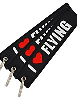 cheap -Automotive Car Key Chain Keychain Favors Cartoon Polyester Microfiber foruniversal / Motorcycles Universal Lovely