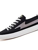 cheap -Men's Shoes Fabric / PU Fall Comfort Sneakers Gray / Brown / Black / White