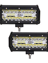 cheap -2pcs Car Light Bulbs 120W Integrated LED 12000lm 40 LED Exterior Lights For universal 2018