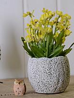 abordables -Fleurs artificielles 1 Une succursale Rustique Azalée Fleur de Table