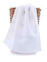 abordables -Qualité supérieure Serviette de bain / Essuie-mains, Couleur Pleine Polyester / Coton 1 pcs