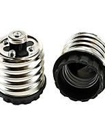 abordables -2pcs E40 à E27 E26 / E27 220V Accessoire d'ampoule Prise de lumière Aluminium Plastique