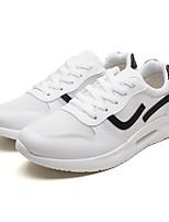 economico -Per uomo Scarpe Tulle Estate Comoda Sneakers Nero / Rosso