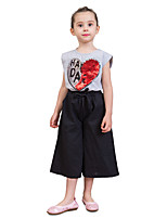cheap -Kids Toddler Girls' Solid Colored Shorts
