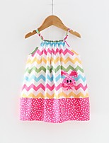 cheap -Kids / Toddler Girls' Striped Sleeveless Dress