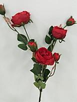 Недорогие -Искусственные Цветы 1 Филиал Деревня Розы Букеты на стол