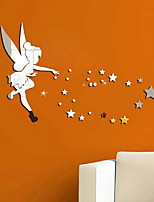 abordables -Calcomanías Decorativas de Pared - Adhesivos de Pared Espejo Estrellas / Hadas Sala de estar / Dormitorio