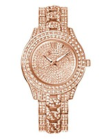cheap -Women's Dress Watch New Design / Cute / Cool Alloy Band Luxury / Fashion Silver / Gold / Rose Gold