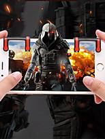 abordables -Contrôleurs de jeu Pour Android / iOS Portable Contrôleurs de jeu ABS 2pcs unité