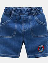 economico -Bambino / Bambino (1-4 anni) Unisex Tinta unita Jeans