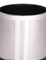 cheap -Kitchen Cleaning Supplies Stainless steel Waste Bins Simple 1pc
