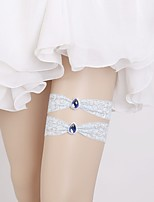 cheap -Lace Classic Jewelry / Vintage Style Wedding Garter 617 Crystals / Rhinestones Garters Wedding / Party & Evening