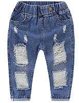 economico -Bambino Unisex Tinta unita Jeans