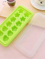 baratos -Ferramentas bakeware silica Gel Gadget de Cozinha Criativa Gelo / Para utensílios de cozinha Stamper & Scraper 1pç