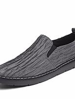 Недорогие -Муж. обувь Искусственное волокно Весна Удобная обувь Мокасины и Свитер Черный / Серый / Красный