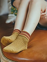 cheap -Women's Warm Socks - Solid Colored