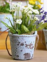 cheap -Artificial Flowers 1 Branch Retro Chrysanthemum Tabletop Flower