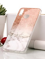 cheap -Case For Huawei P20 lite / P20 IMD / Pattern Back Cover Marble Soft TPU for Huawei P20 lite / Huawei P20 / P10 Lite