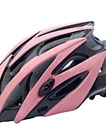 abordables -Casque de vélo 21 Aération CE Certification Équipement de Sécurité, Poids léger EPS Camping / Cyclisme - Adultes Noir / Blanc / Bleu /