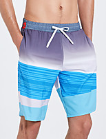 cheap -SBART Men's Board Shorts Waterproof, Quick Dry, Breathable Spandex Beach Wear Bottoms Surfing / Beach / Water Sports