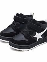 Недорогие -Мальчики Обувь Дерматин Осень Удобная обувь Кеды для Черный / Серый / Красный