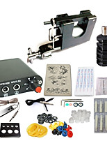 cheap -Tattoo Machine Starter Kit 1 steel machine liner & shader Mini Style 1 x aluminum grip 10pcs pcs Tattoo Needles Tattoo Style Other /