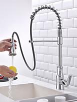 cheap -Kitchen faucet - Contemporary Chrome Standard Spout Centerset