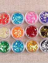 cheap -12 pcs Nail Jewelry / Nail Art Kit High Quality Nail Art Tool / Nail Art Design / Nail Art Tips Fashionable Design Daily Wear