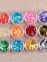 abordables -12 pcs Bijoux à ongles / Kits et ensembles d'art d'ongle Haute qualité Outil d'art des ongles / Nail Art Design / Conseils d'art des