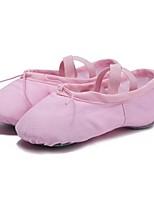 abordables -Femme Chaussures de Ballet Toile Plate Talon Personnalisé Personnalisables Chaussures de danse Noir / Rouge / Rose / Entraînement