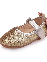 cheap -Girls' Shoes PU Summer Comfort Flats Sequin Magic Tape for Outdoor Gold Silver Pink