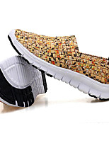 Недорогие -Мальчики Обувь Ткань Лето Удобная обувь Мокасины и Свитер для Оранжевый / Желтый / Военно-зеленный