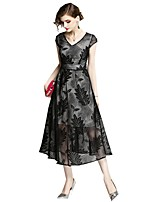 cheap -SHE IN SUN Women's Chinoiserie Sheath Dress - Floral Lace