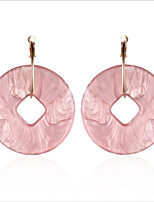 cheap -Women's Drop Earrings / Hoop Earrings - European, Fashion White / Light Pink For Wedding / Daily