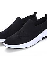 Недорогие -Муж. обувь Ткань Осень Удобная обувь Мокасины и Свитер для на открытом воздухе Черный Темно-синий