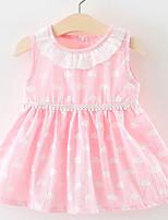 cheap -Toddler Girls' Color Block Sleeveless Dress