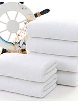 abordables -Qualité supérieure Serviette, Couleur Pleine Polyester / Coton 1 pcs