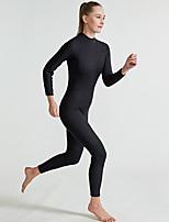 abordables -SBART Femme Combinaison  Intégrale 2mm CR Néoprène Combinaisons Manches Longues Couleur Pleine / Fermeture Eclair Dorsale Eté