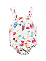 cheap -Toddler Unisex Floral Sleeveless Swimwear