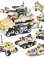 cheap -Building Blocks 348pcs Tank / Fighter Aircraft Tank / Fighter Gift