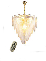 cheap -QIHengZhaoMing 8-Light Crystal Chandelier Ambient Light 220-240V, Dimmable With Remote Control, Bulb Included / 15-20㎡