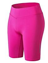 economico -Per donna Pantaloncini da corsa - Fucsia, Blu, Grigio Gli sport Elastene Pantaloncini / Cosciali Abbigliamento sportivo Leggero,