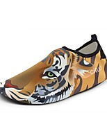 Недорогие -Муж. обувь Спандекс Лето Удобная обувь Мокасины и Свитер Желтый