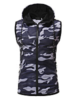 cheap -Men's Basic Hoodie - Camouflage, Print