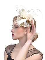 cheap -Women's Vintage / Elegant Fascinator - Solid Colored Flower / Mesh