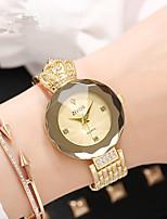Недорогие -Жен. Наручные часы Китайский Новый дизайн сплав Группа Роскошь / Мода Серебристый металл / Золотистый / Розовое золото