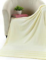 abordables -Qualité supérieure Serviette de bain, Couleur Pleine Polyester / Coton / Autres 3 pcs