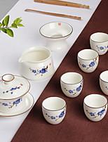 cheap -9pcs Porcelain Teapot Set Heatproof ,  11*8.3;10*5.3;9*5.2;5.4*4.5cm