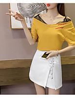 cheap -Women's Basic T-shirt - Geometric