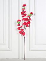 abordables -Fleurs artificielles 1 Une succursale Rustique / Style Simple Fleurs éternelles Arbre de Noël